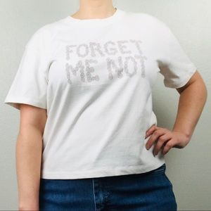 Madewell Forget Me Not Boxy Flower Tee